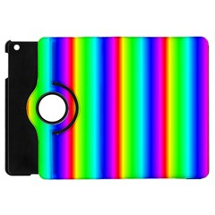 Rainbow Gradient Apple Ipad Mini Flip 360 Case