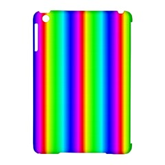 Rainbow Gradient Apple iPad Mini Hardshell Case (Compatible with Smart Cover)