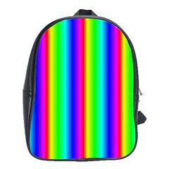 Rainbow Gradient School Bags (XL)