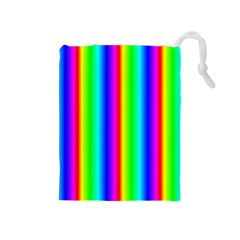 Rainbow Gradient Drawstring Pouches (Medium)