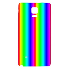 Rainbow Gradient Galaxy Note 4 Back Case