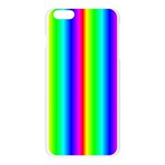 Rainbow Gradient Apple Seamless iPhone 6 Plus/6S Plus Case (Transparent)