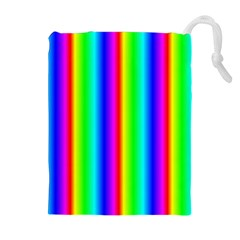 Rainbow Gradient Drawstring Pouches (Extra Large)