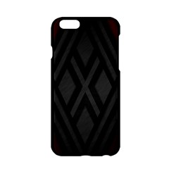 Abstract Dark Simple Red Apple Iphone 6/6s Hardshell Case