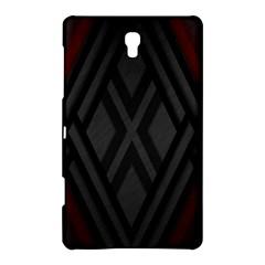 Abstract Dark Simple Red Samsung Galaxy Tab S (8.4 ) Hardshell Case
