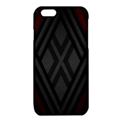 Abstract Dark Simple Red iPhone 6/6S TPU Case