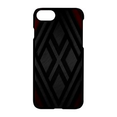 Abstract Dark Simple Red Apple Iphone 7 Hardshell Case