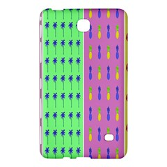 Eye Coconut Palms Lips Pineapple Pink Green Red Yellow Samsung Galaxy Tab 4 (7 ) Hardshell Case