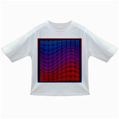 Colorful Red & Blue Gradient Background Infant/toddler T Shirts