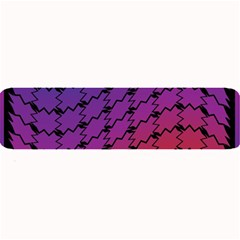 Colorful Red & Blue Gradient Background Large Bar Mats