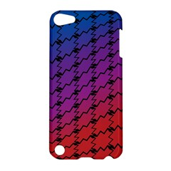 Colorful Red & Blue Gradient Background Apple Ipod Touch 5 Hardshell Case