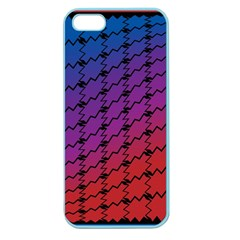 Colorful Red & Blue Gradient Background Apple Seamless iPhone 5 Case (Color)