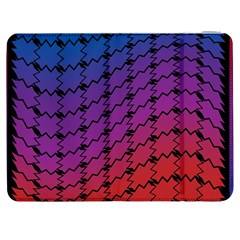 Colorful Red & Blue Gradient Background Samsung Galaxy Tab 7  P1000 Flip Case