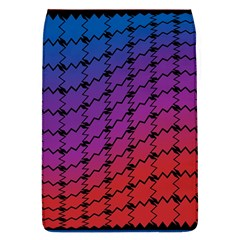 Colorful Red & Blue Gradient Background Flap Covers (L)