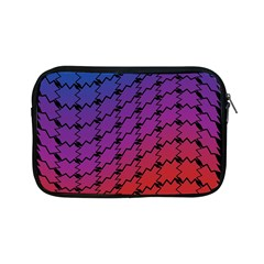 Colorful Red & Blue Gradient Background Apple Ipad Mini Zipper Cases