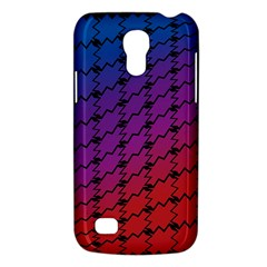 Colorful Red & Blue Gradient Background Galaxy S4 Mini