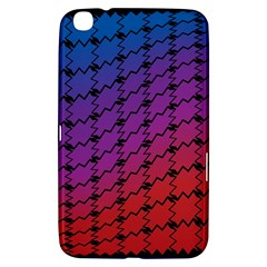 Colorful Red & Blue Gradient Background Samsung Galaxy Tab 3 (8 ) T3100 Hardshell Case
