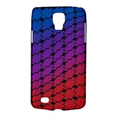 Colorful Red & Blue Gradient Background Galaxy S4 Active