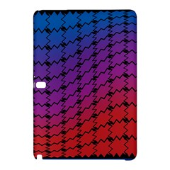 Colorful Red & Blue Gradient Background Samsung Galaxy Tab Pro 10.1 Hardshell Case
