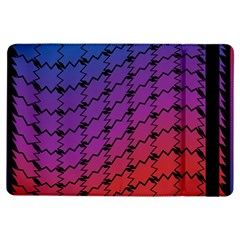 Colorful Red & Blue Gradient Background iPad Air Flip