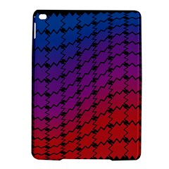 Colorful Red & Blue Gradient Background iPad Air 2 Hardshell Cases