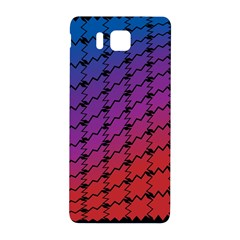 Colorful Red & Blue Gradient Background Samsung Galaxy Alpha Hardshell Back Case