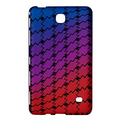 Colorful Red & Blue Gradient Background Samsung Galaxy Tab 4 (8 ) Hardshell Case