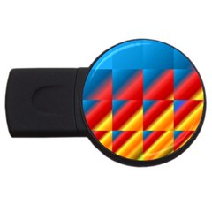 Gradient Map Filter Pack Table Usb Flash Drive Round (2 Gb)