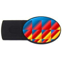 Gradient Map Filter Pack Table Usb Flash Drive Oval (2 Gb)