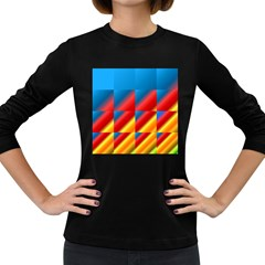 Gradient Map Filter Pack Table Women s Long Sleeve Dark T Shirts