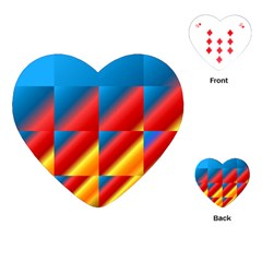 Gradient Map Filter Pack Table Playing Cards (heart)
