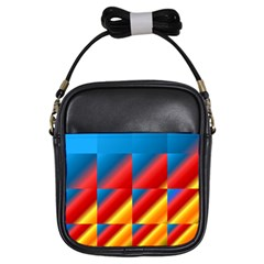 Gradient Map Filter Pack Table Girls Sling Bags