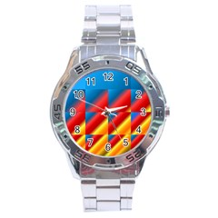 Gradient Map Filter Pack Table Stainless Steel Analogue Watch