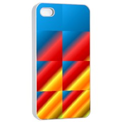 Gradient Map Filter Pack Table Apple iPhone 4/4s Seamless Case (White)