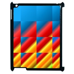 Gradient Map Filter Pack Table Apple iPad 2 Case (Black)