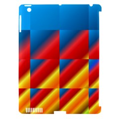 Gradient Map Filter Pack Table Apple iPad 3/4 Hardshell Case (Compatible with Smart Cover)