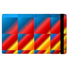 Gradient Map Filter Pack Table Apple iPad 3/4 Flip Case