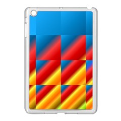 Gradient Map Filter Pack Table Apple iPad Mini Case (White)