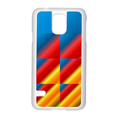 Gradient Map Filter Pack Table Samsung Galaxy S5 Case (White)