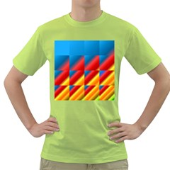 Gradient Map Filter Pack Table Green T Shirt