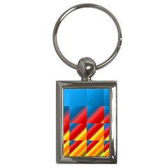 Gradient Map Filter Pack Table Key Chains (rectangle)