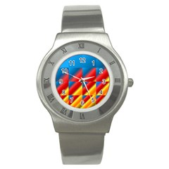Gradient Map Filter Pack Table Stainless Steel Watch
