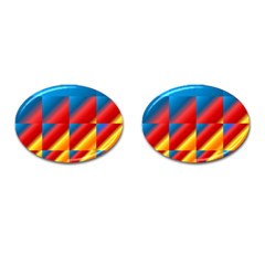 Gradient Map Filter Pack Table Cufflinks (oval)