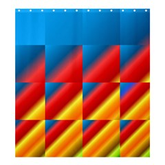 Gradient Map Filter Pack Table Shower Curtain 66  X 72  (large)