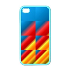 Gradient Map Filter Pack Table Apple iPhone 4 Case (Color)
