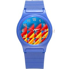 Gradient Map Filter Pack Table Round Plastic Sport Watch (s)