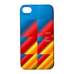 Gradient Map Filter Pack Table Apple iPhone 4/4S Hardshell Case with Stand