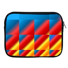 Gradient Map Filter Pack Table Apple iPad 2/3/4 Zipper Cases