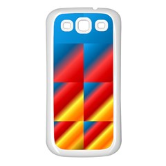 Gradient Map Filter Pack Table Samsung Galaxy S3 Back Case (White)