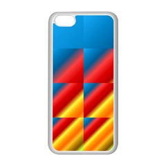 Gradient Map Filter Pack Table Apple iPhone 5C Seamless Case (White)